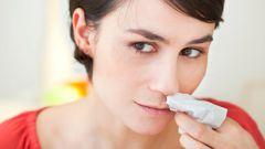 How to stop severe nosebleeds