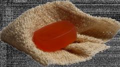 Как связать мочалку-варежку