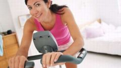How to pump his legs on a stationary bike