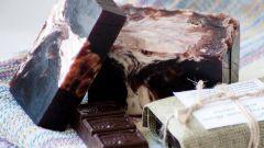 Как сделать шоколадное мыло