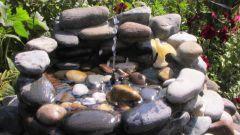 Как сделать садовый фонтан