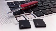 Как отключить кнопку fn на ноутбуке