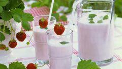 How to make a milk shake