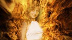 Как сделать в фотошопе человека в огне
