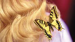 Как нанести рисунок на волосы