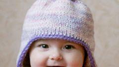 Как вязать зимние детские шапки