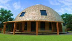 Как построить купольный дом