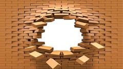How to strengthen a brick wall