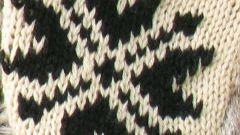Как вязать двумя нитками