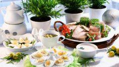 Как приготовить стол на Пасху