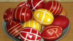 Чем покрасить пасхальные яйца