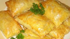 How to make puff pastry pies