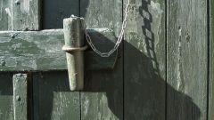 Как открыть кодовый замок на двери