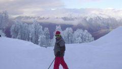 Как мазать лыжи  с насечкой