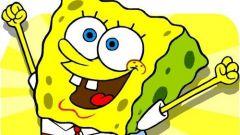 How to draw spongebob Squarepants with pencil