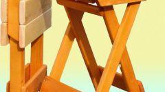 Как самому сделать складной стол
