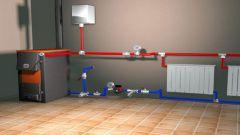 Как монтировать систему отопления