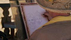 Как нарисовать портрет девушки