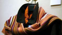 Как нарисовать шарф