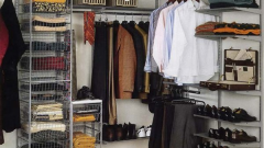 Как из кладовки сделать гардеробную