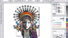 In Coreldraw make background transparent