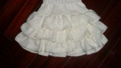 Как вязать юбку для детей