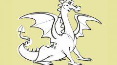 Как нарисовать дракона простым карандашом