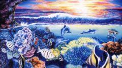 Как нарисовать морских обитателей