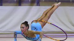 Как обмотать обруч  для гимнастики
