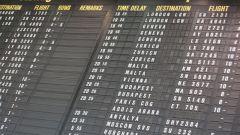 Как узнать время прилета самолета