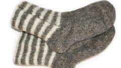 Как вязать двойную пятку на носках