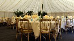 Как оформить стол на свадьбу