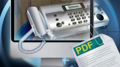 How to set the phone to Fax