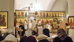 Как вести себя на службе в церкви
