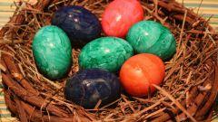 Как и когда красить яйца к Пасхе
