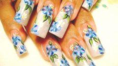 Рисунки на ногтях: как научиться мастерству