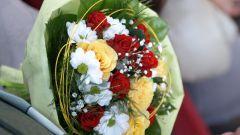 Как нужно дарить цветы