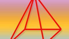 Как найти площадь правильной четырехугольной пирамиды