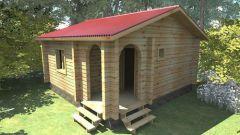 Как построить баню на даче