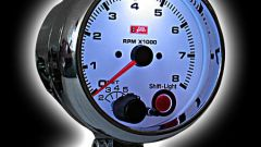 How to determine speed by tachometer