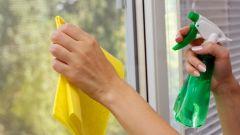 Как быстро помыть окна