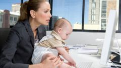 How to go to work during maternity leave
