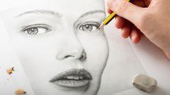 Как нарисовать лицо поэтапно