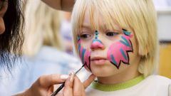 How to draw face painting