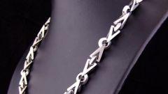 How to bleach a silver chain