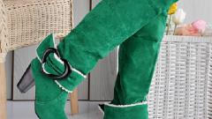 Как в домашних условиях почистить замшевые сапоги