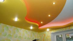 Как встроить лампы в потолок