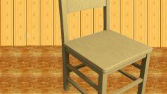 Как опустить стул