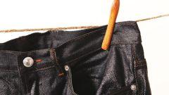 Как отодрать жвачку от джинсов