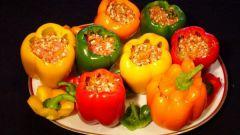 Как вкусно приготовить перцы